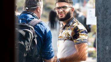 Farid Hakimi, ici à l'ouverture du procès la 14 septembre 2020