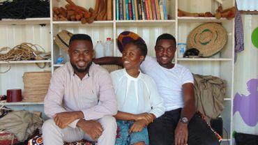 Jeffrey Kwabena Yeboah a embauché deux personnes pour débuter l'aventure.