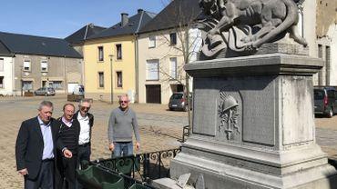 Le monument aux morts Mussy-la-Ville
