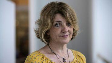 La médecin légiste italienne Cristina Cattaneo lors d'une séance photo à Paris le 3 septembre 2019