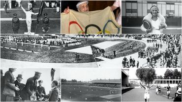 Les Jeux olympiques d'Anvers ont 100 ans: Demandez le programme!