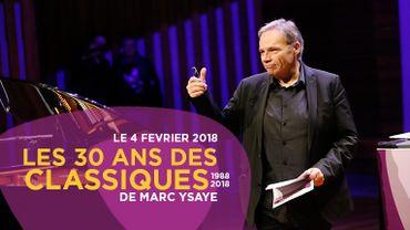 Les 30 ans des Classiques de Marc Ysaye