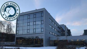 Le siège liégeois de NRB-GROUP