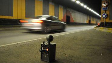 Dans les tunnels de Bruxelles, presque personne ne respecte aujourd'hui la limite de 50 km/h