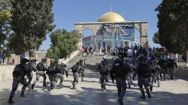 Tensions sur l'esplanade des Mosquées à Jérusalem, 61 palestiniens blessés