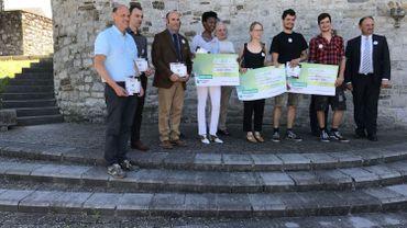le grand prix de l'artisanat récompense une jeune chocolatière installée au centre de Ciney en Province de Namur. Euphrasie e M'Bamba