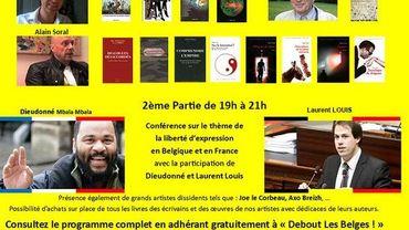 Le colloque réunira entre autres Dieudonné et Alain Soral