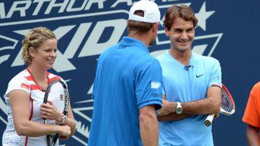 """Roger Federer sur le retour de Kim Clijsters: """"L'âge n'a pas d'importance"""""""