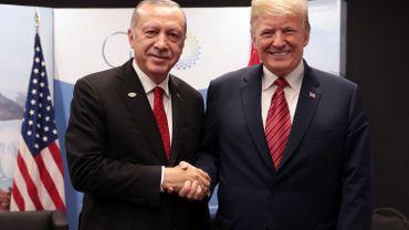 Trump et Erdogan lors du sommet du G20 le 1er décembre 2018