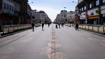 La criminalité a baissé depuis la création du piétonnier à Bruxelles
