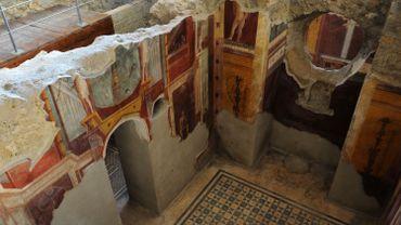 Pompéi: un graffiti semble confirmer que l'éruption a eu lieu en octobre 79