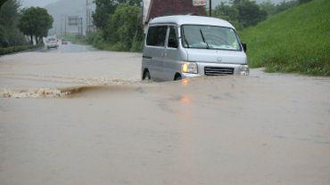 Pluies diluviennes au Japon: évacuations massives, 13 disparus
