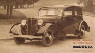 Imperia, un grand nom de l'histoire de l'automobile belge