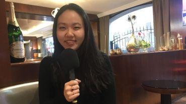 La violoniste Stella Chen lors de notre entretien.
