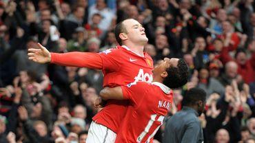 Wayne Rooney et Nani