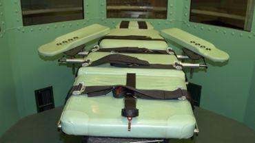 La salle des exécutions dans la prison de San Quentin près de San Francisco