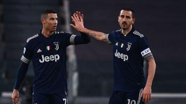 Cristiano Ronaldo a inscrit le troisième but des Turinois