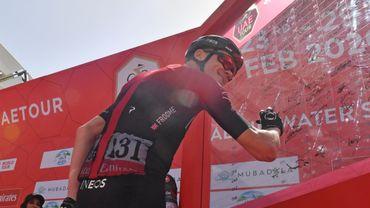 Chris Froome (Ineos) a retrouvé le peloton au Tour des Emirats et le sourire après huit longs mois d'absence.
