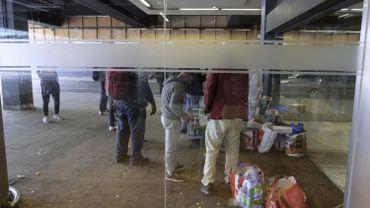 Les migrants sont redirigés vers des centres pour sans-abri à Bruxelles