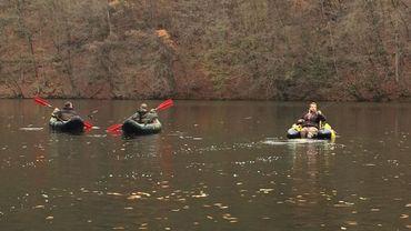 Les premiers kayaks ont été mis à flot mardi après-midi.