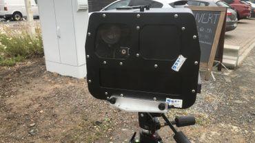 Un radar de type NK7, ici sur la zone de Police Mons-Quévy