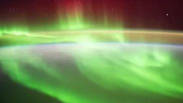 """Le """"timelapse"""" a été réalisé par l'astronaute Alexander Gerst."""