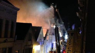 Incendie à Saint-Gilles: la cause du sinistre n'est toujours pas établie