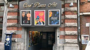Les clients du Plaza Art à Mons ont manifesté leur inquiétude quant à l'avenir du cinéma