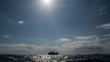 Un navire de la compagnie saoudienne Bahri