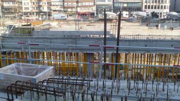 Le chantier Rive Gauche à Charleroi