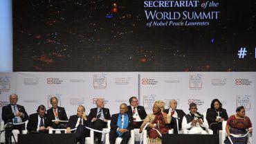 Le XVIe sommet mondial des prix Nobel de la paix se tient jusqu'à dimanche, pour la première fois en Amérique latine