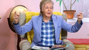 McCartney fête les 100 ans de l'Ours Rupert