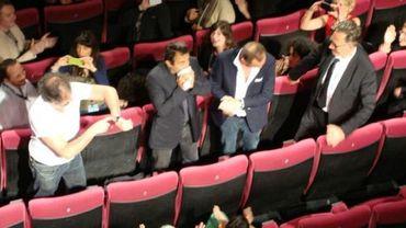 Benoît Poelvoorde, Albert Dupontel, Benoît Delépine, Gustave Kerven et leur producteur Jean-Pierre Guerin étaient présents dans la salle lors de la vision de presse.