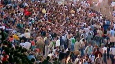 Drame du Heysel: journalistes et témoins racontent minute par minute