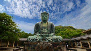 La ville de Kamakura, en périphérie de Tokyo, est célèbre pour son Bouddha assis géant