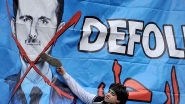 Partout dans le monde, des manifestants indignés par l'interminable révolution syrienne ont appelé les dirigeants à réagir de toute urgence