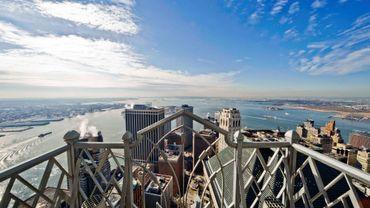 Une vue magnifique sur New York à partir d'un appartement très prestigieux