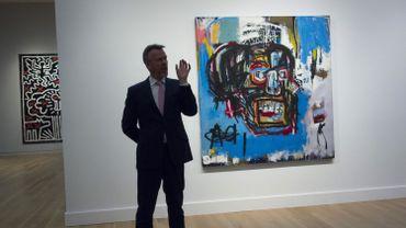 Ce grand tableau (1,83 m sur 1,73 m) sans titre pourrait établir un nouveau record pour le peintre, selon Sotheby's, qui en attend plus de 60 millions de dollars