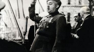 Discours du Général Francisco Franco à Bilbao en 1939