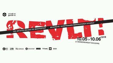 L'exposition REVLT! à l'Espace Vanderborght à Bruxelles