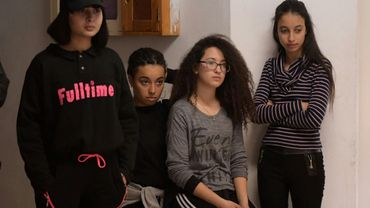 De jeunes Tunisiennes à Douar Hicher, près de Tunis, le 11 janvier 2019