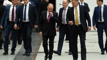 """""""La Russie est très préoccupée par ce nouveau tir provocateur"""", a indiqué aux journalistes DmitriPeskov, ajoutant que la Russie """"condamnait fermement"""" ces actes qui mènent à une """"escalade des tensions"""" dans la péninsule coréenne."""