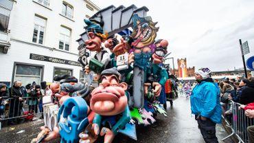 Photo prise au carnaval d'Alost en 2019