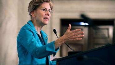 USA: la sénatrice Elizabeth Warren, candidate aux primaires démocrates de 2020