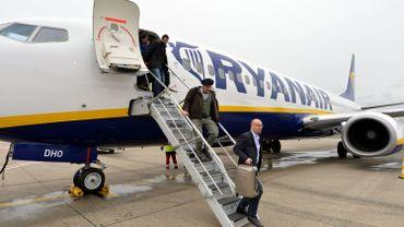 Enquête de satisfaction: Ryanair, derrière Brussels Airlines et Jetairfly