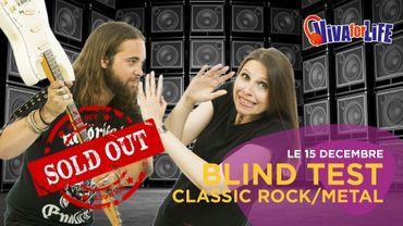Soirée Blind-Test Classic Rock / Hard-Rock / Metal