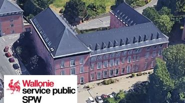 L'ancien hôpital des anglais, siège liégeois de l'administration wallonne de l'urbanisme