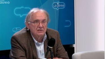 Au micro de Débat-Première, la position d'Hervé Hasquin à l'égard de Theo Franken est sans ambiguïté.