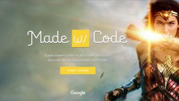 Wonder Woman veut donner aux jeunes femmes le pouvoir de coder
