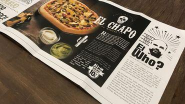 La pizza El Chapo a suscité une polémique sans précédent au Mexique.